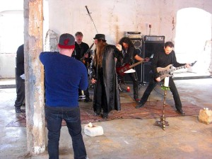 human fortress videoshoot wasted years 005