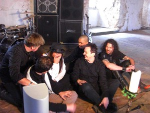 human fortress videoshoot wasted years 001