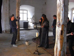 human fortress videoshoot wasted years 004