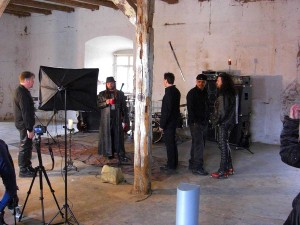 human fortress videoshoot wasted years 011